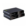 Techly Cat.6/6a/7 cable, up to 120m, FullHD, with IR HDMI HDbitT extender