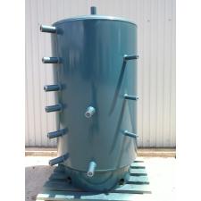 Dunaterm 1000 L Puffertartály hőcserélő-, szigetelés nélkül 1800*930 indirekt tároló