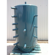 Dunaterm 3000 L Puffertartály hőcserélő nélkül, szigeteléssel indirekt tároló
