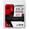 Kingston 64GB DT4000 G2 Secure Hardware Encryption (Management Ready) vízálló ütésálló USB3.0 pendrive fekete