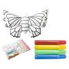Dranimal 3d színező készlet, pillangó