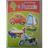 Castorland 4 az 1-ben puzzle