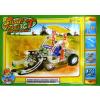 Fém traktor építő játék