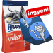 Happy Cat Supreme 2 x 4 kg Happy Cat + Happy Cat pléd ingyen! - Adult Sterilised