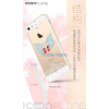 Apple iPhone 6/6s ICON Starjewel TPU+PC - White butterfly