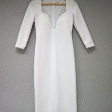 Fehér hosszú ujjú ruha- Egy méret