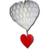 Szív lampion + csüngő