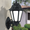 Fumagalli BISSO/ANNA kültéri fali lámpa E27 fekete - opál (Lámpa)