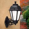 Fumagalli BISSO/SABA kültéri fali lámpa E27 fekete - opál (Lámpa)