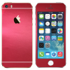iPhone 5S - Matt króm piros fólia