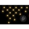 Karácsonyi világítő eső 200 LED meleg fehér - 4 m