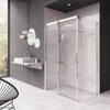 Ravak Matrix MSDPS-100/100 B/J zuhanyajtó és fix oldalfalas zuhanykabin