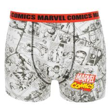 Marvel Single férfi boxeralsó piros S