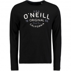 O'Neill LM Oceanside Long Slv Top Hosszú ujjú póló D (O-652102-p_9010-Black Out)