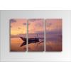 Byhome Digital Art vászonkép | 1220-S Silent Boat THREE