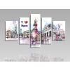 Byhome I love Sopron vászonkép-S