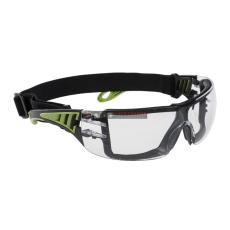 Portwest PS11 Tech Look Plus Védőszemüveg (víztiszta)