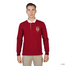Oxford University férfi póló QUEENS-POLO-ML-RED