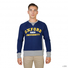 Oxford University férfi Pulóver OXFORD-garbó-RAGLAN-NAVY