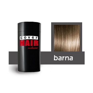 Cover Hair Volume hajdúsító, 30 g, barna