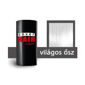 Cover Hair Volume hajdúsító, 30 g, világos ősz