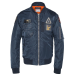SCHOTT Airforce2 Bomber Jacket - navy