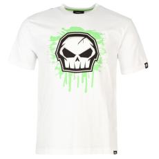 No Fear Core Graph férfi pamut póló fehér 3XL