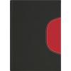 DAYLINER Naptár, tervezo, B5, heti, Memphis, fekete-piros
