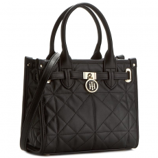 Tommy Hilfiger Táska TOMMY HILFIGER - American Icon Mini Tote Quilted AW0AW03173 002