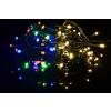 Karácsonyi világító lánc 100 LED - 9 villogó funkció- 9,9 m