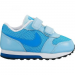 Nike Md Runner 2 gyerek sportcipő, Photo Blue/White, 25 (807328-400-8c)