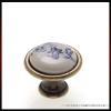 Forest Fogantyú P08-01-25-04 Kék virág porcelán Antik-bronz