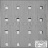 Locatelli Perforált lemez Laccato Hdf Quadro 11-45 375 Juhar 1400x510x4mm