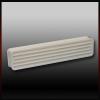 FDU Ajtó Szellőzőrács Fehér műanyag 300x70mm