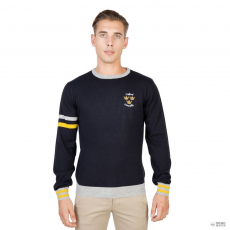 Oxford University férfi Pulóver OXFORD_TRICOT-CREWNECK-NAVY