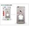 BCN Caseland Apple iPhone 7 Plus szilikon hátlap - BCN Caseland Love - transparent