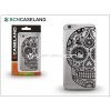 BCN Caseland Apple iPhone 7 Plus szilikon hátlap - BCN Caseland Calavera - transparent