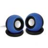 Gembird Stereo Speakers 2.0 System  2x3W  blue SPK-AC-B