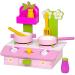 Fa Fa játék rezsó kiegészítőkkel rózsaszín