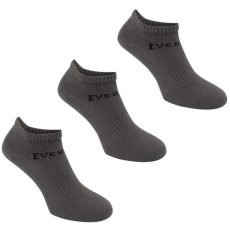 Everlast sportzokni 3 pár / csomag - Everlast 3 Pack Trainer Socks