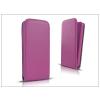 Haffner Slim Flexi Flip bőrtok - Apple iPhone 7 - lila