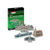 3D puzzle magyar épitészet - Mini magyar épületek