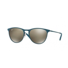 Ray-Ban RJ9538S 253/5A RUBBER RED/TORQUOISE MIRROR GOLD napszemüveg