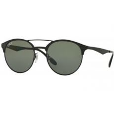 Ray-Ban RB3545 186/9A SHINY BLACK/TOP MATTE BLACK POLAR GREEN napszemüveg