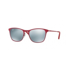 Ray-Ban RJ9539S 256/30 RUBBER FUXIA/TORQUOISE FLASH GREY napszemüveg