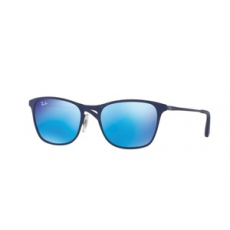 Ray-Ban RJ9539S 257/55 RUBBER BLUE/RED FLASH BLUE napszemüveg