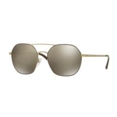 Vogue VO4022S 50215A MATTE BROWN/PALE GOLD LIGHT BROWN MIRROR DARK GOLD napszemüveg