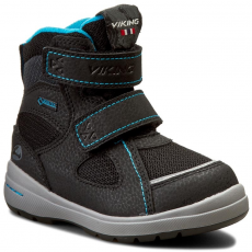 Viking Csizmák VIKING - Ondur Gtx 3-86000-277 Black/Charcoal