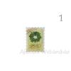 Karácsonyi bélyeg hűtőmágnes, többféle mintával