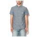 Jack Jones Jack&Jones Kék Férfi Slim Fit Rövid Ujjú Ing, M (12106291-MEDIUM-BLUE-DENIM-M)